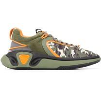 'B-Runner' Sneakers mit Camouflage-Print