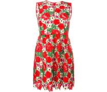 Kleid mit Blumenspitze