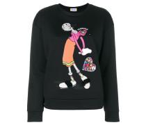 embellished Olive Oil sweatshirt