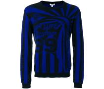 knit patterned jumper