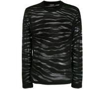 Pullover mit Zebra
