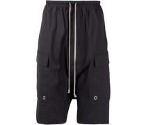 drop-crotch cargo shorts