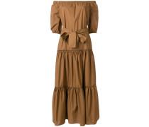 Schulterfreies Kleid mit langem Schnitt