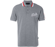 Poloshirt mit 'NY'-Print - men - Baumwolle - S