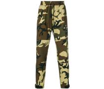 Jogginghose mit Camouflage-Print