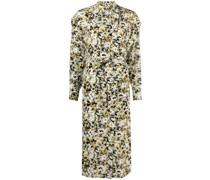 Ondine Kleid mit abstraktem Print