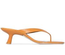 'Beep' Sandalen mit Zehensteg, 60mm