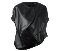 short-sleeve stud jacket