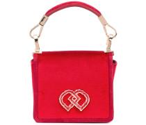 Mini 'DD' Handtasche - women - Seidensamt