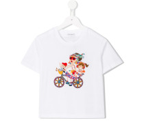 "T-Shirt mit ""DG Family""-Patch"