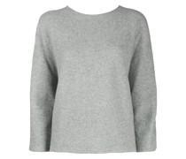 Pullover mit Seidenärmeln