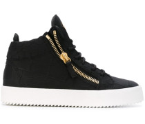 High-Top-Sneakers mit Reißverschluss - women