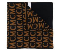 Gestrickter Schal mit Logo