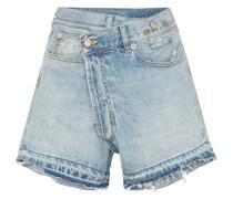 Ausgefranste 'Tilly' Jeans-Shorts