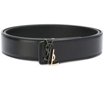 logo buckled belt - women - Kalbsleder/Metall