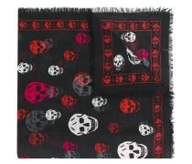 Schal mit TotenkopfPrint