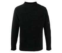 Pullover mit Logo-Ärmel