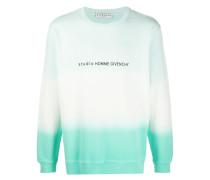 Sweatshirt mit Ombré-Print