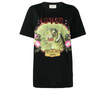 """T-Shirt mit """"Loved""""-Stickerei"""