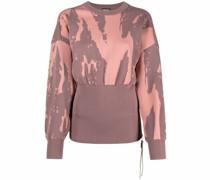 Jacquard-Pullover mit Reißverschlüssen