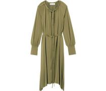 Langärmeliges Jersey-Kleid