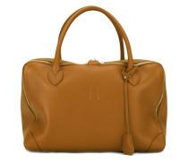Handtasche mit Lederschildchen - women - Leder