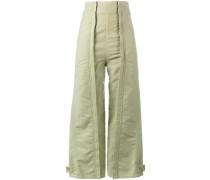 Hose mit hohem Bund - women - Baumwolle - 42