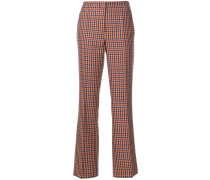 dogtooth tailored trousers