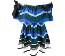 - Gestreiftes Kleid - women - Seide/Baumwolle - 40