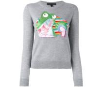 'Julie Verhoeven' Pullover mit Froschmotiv