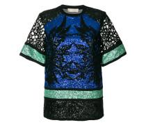sequin embellished blouse