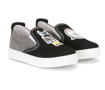 'Monster' Slip-On-Sneakers