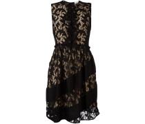 Kleid mit Spitzen-Overlay
