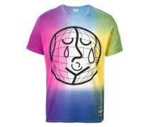 world print T-shirt