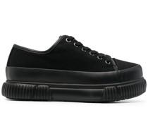 Sneakers mit Flatform-Sohle