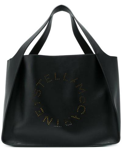 Stella McCartney Damen 'Stella' Handtasche mit Logo