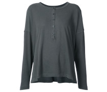 'The Slouch' Henley' Langarmshirt