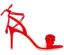 Sandalen mit gerüschten Details