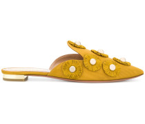 sunflower embellished mules - Unavailable