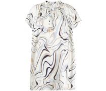 Ausgestelltes Kleid mit grafischem Print