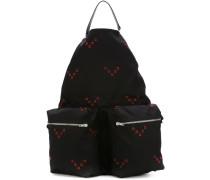 Oversized-Rucksack mit Kettendetail