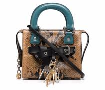 Handtasche mit Schlangen-Optik