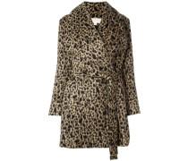 - Mantel mit Leopardenmuster - women