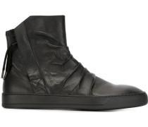 High-Top-Sneakers in Knitteroptik