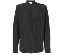 'Yves' Seidenhemd mit Print