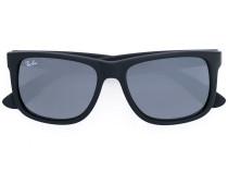 Rechteckige Sonnenbrille - men - Acetat - 54