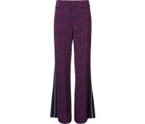 Seidenhose im Pyjama-Stil