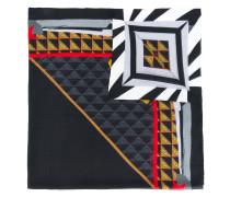 Schal mit Augen-Print - unisex - Seide/Modal