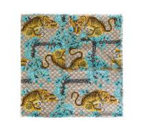 Bengal printed shawl - women - Seide/Modal