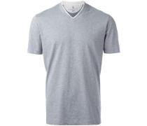 T-Shirt mit V-Ausschnitt - men - Baumwolle - S